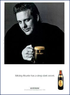Gushing over Mickey Rourke